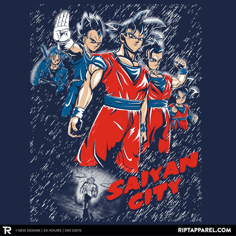 Saiyan City - Collection Image - RIPT Apparel