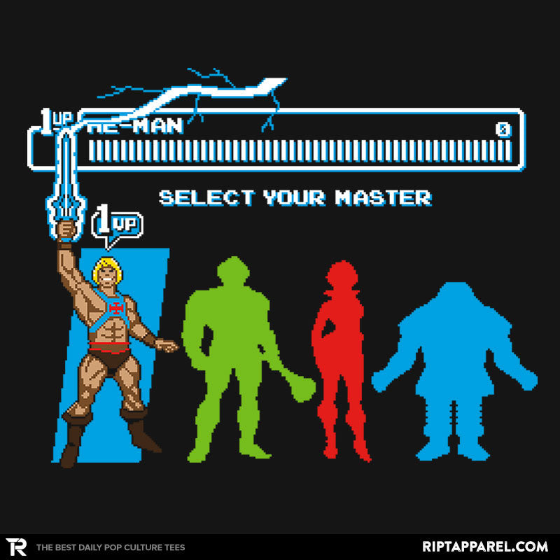 Select Your Master - Collection Image - RIPT Apparel