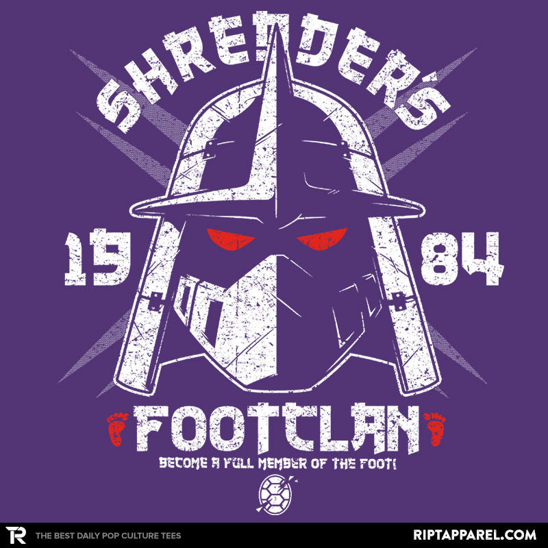 Shredhead's Foot Clan Exclusive - RIPT Apparel