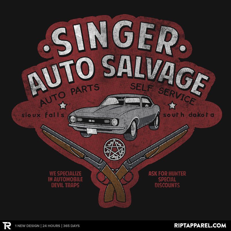 Singer Auto Salvage - RIPT Apparel