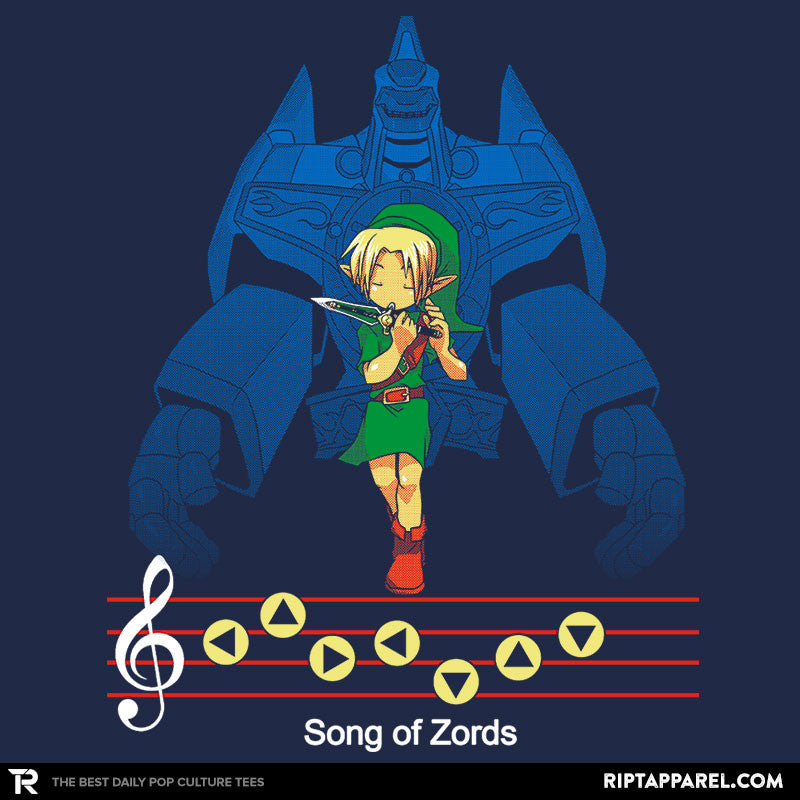 Song of Zords - RIPT Apparel