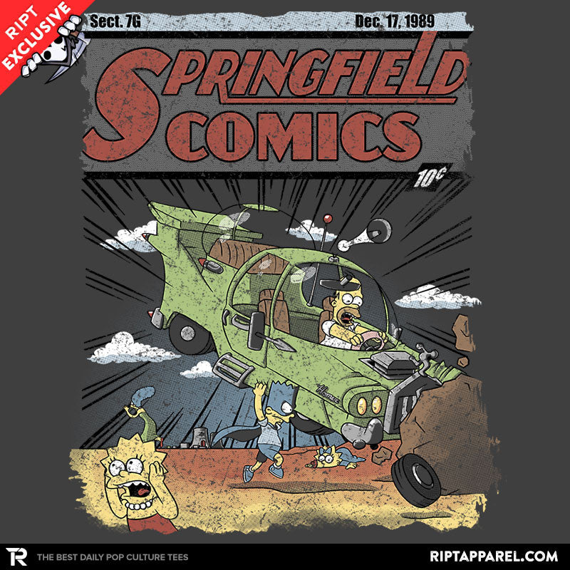 Springfield Comics - Collection Image - RIPT Apparel