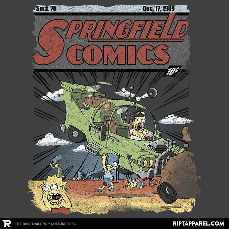 Springfield Comics Exclusive - Collection Image - RIPT Apparel