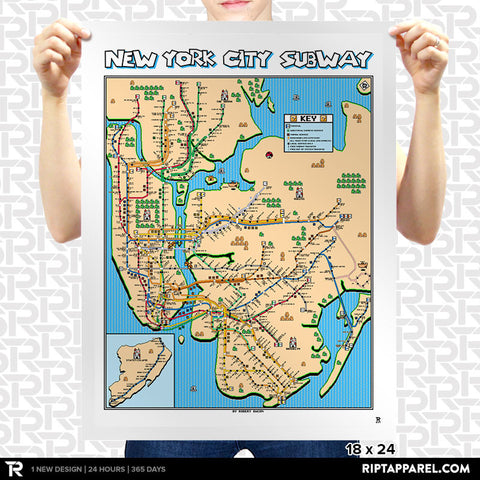 Super Mario 3 New York City Map
