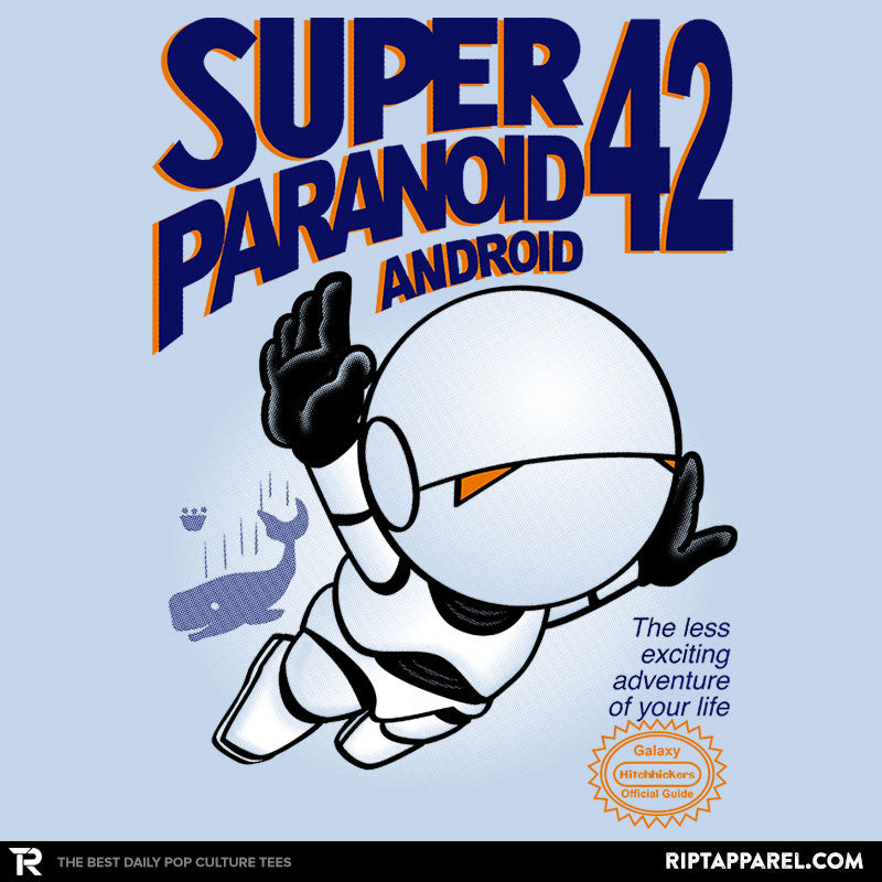 Super Paranoid Android 42 - RIPT Apparel