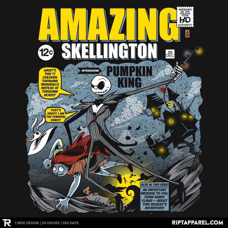 The Amazing Skellington Exclusive - RIPT Apparel