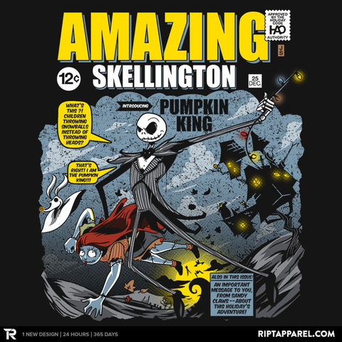 The Amazing Skellington Exclusive