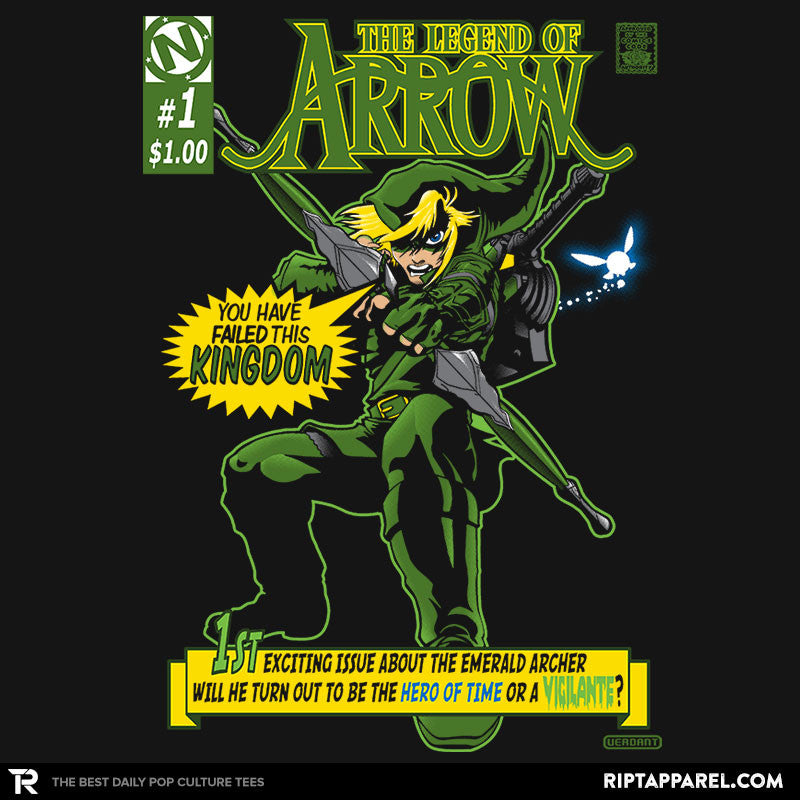 The Emerald Archer - Collection Image - RIPT Apparel
