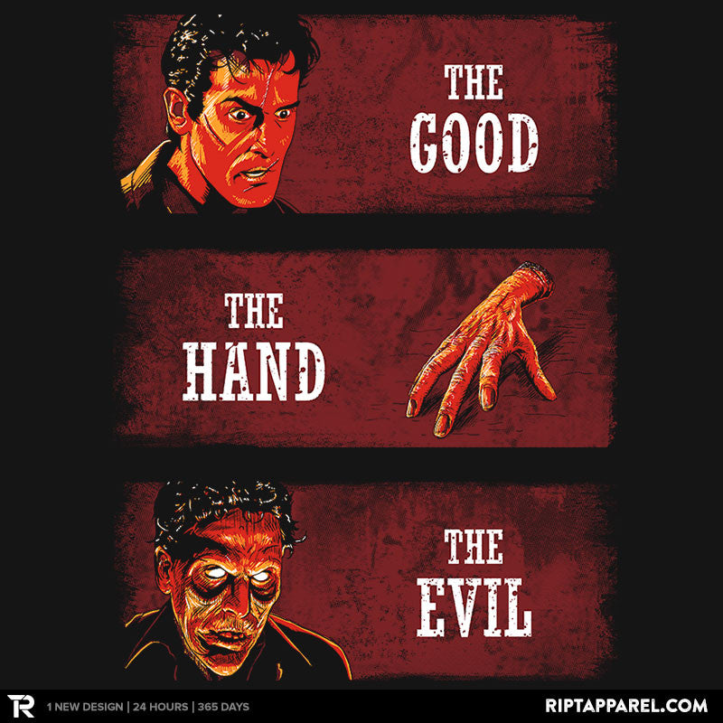 The Good, the Hand and the Evil - RIPT Apparel
