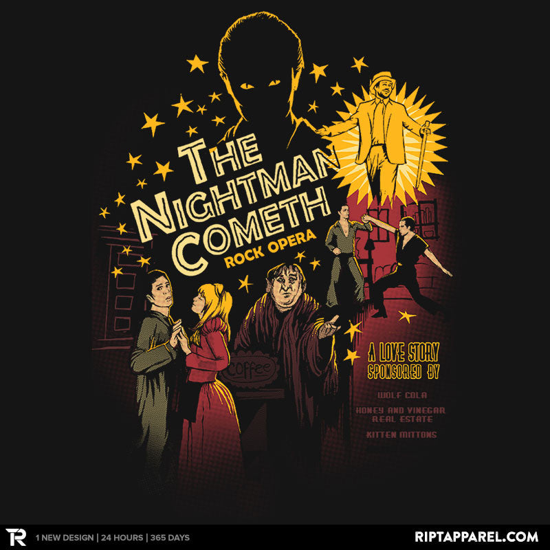 The Nightman Cometh - Collection Image - RIPT Apparel