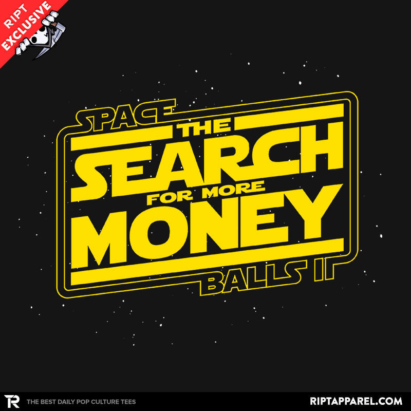 The Search for More Money - Collection Image - RIPT Apparel