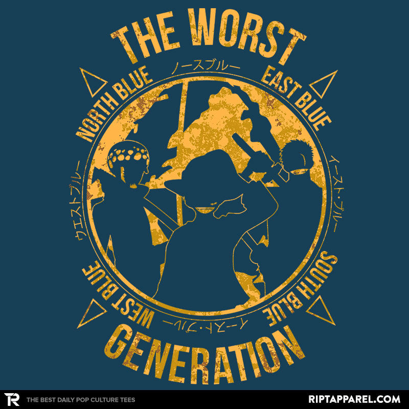 The Worst Generation - Collection Image - RIPT Apparel