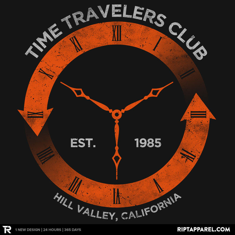 Time Travelers Club - RIPT Apparel