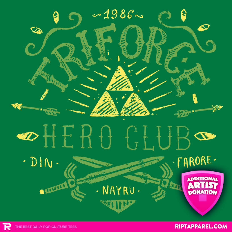 Triforce Hero Club - RIPT Apparel