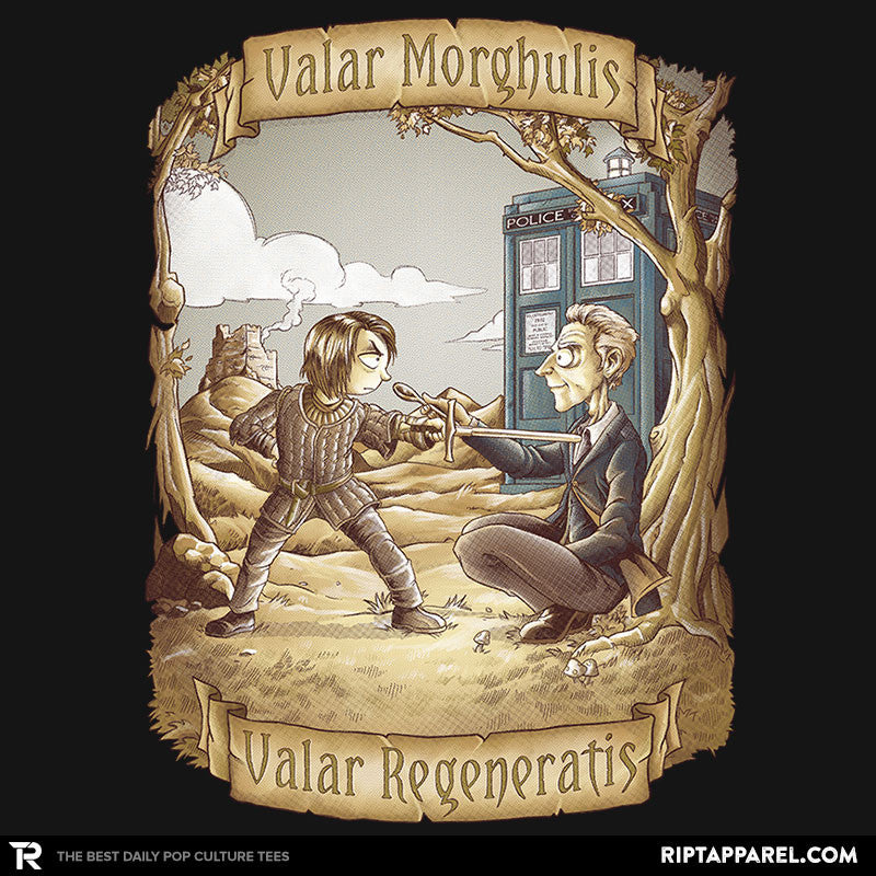 Valar Regeneratis - Collection Image - RIPT Apparel
