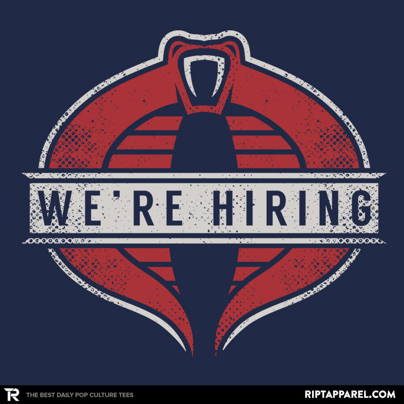 We are hiring - RIPT Apparel