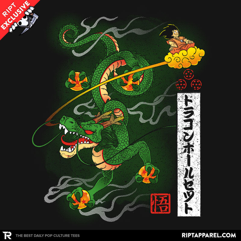 Woodblock Dragon - RIPT Apparel
