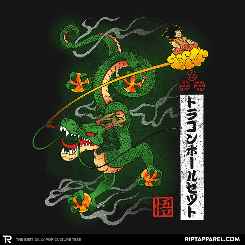 Woodblock Dragon Exclusive - RIPT Apparel