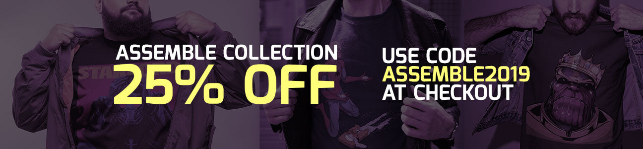 25% OFF Assemble Tees