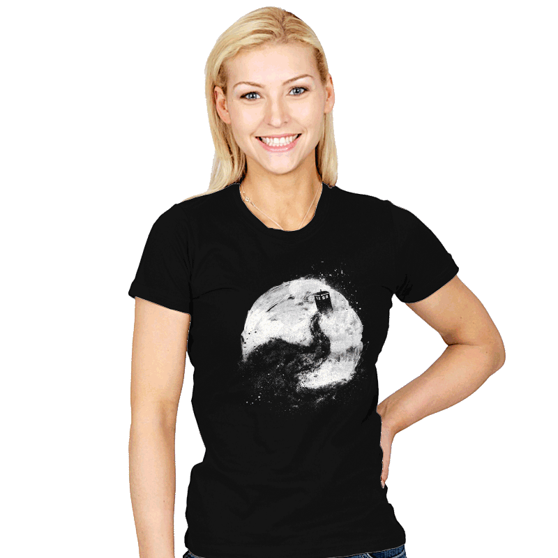 All of Space and Time - Womens - T-Shirts - RIPT Apparel