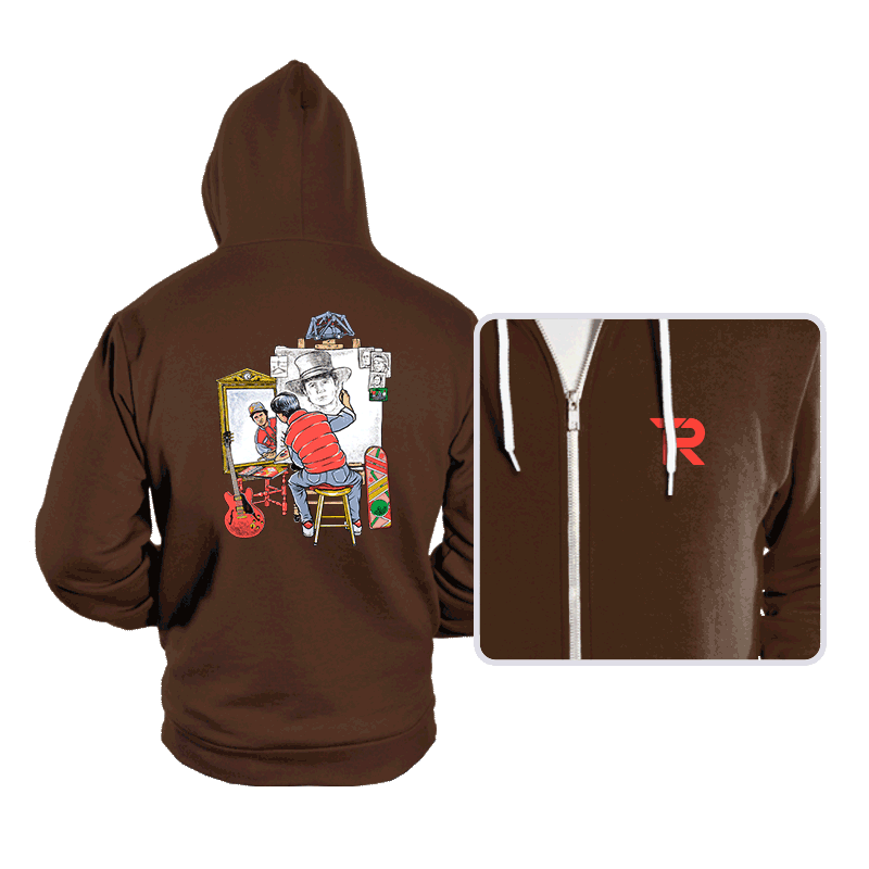 Marty Future Self Portrait - Hoodies - Hoodies - RIPT Apparel