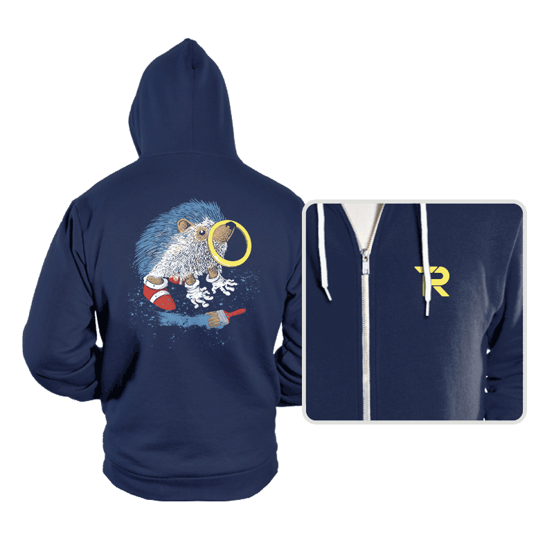 He Wants to be the Fastest One - Hoodies - Hoodies - RIPT Apparel