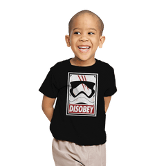 Disobey The Order - Youth - T-Shirts - RIPT Apparel