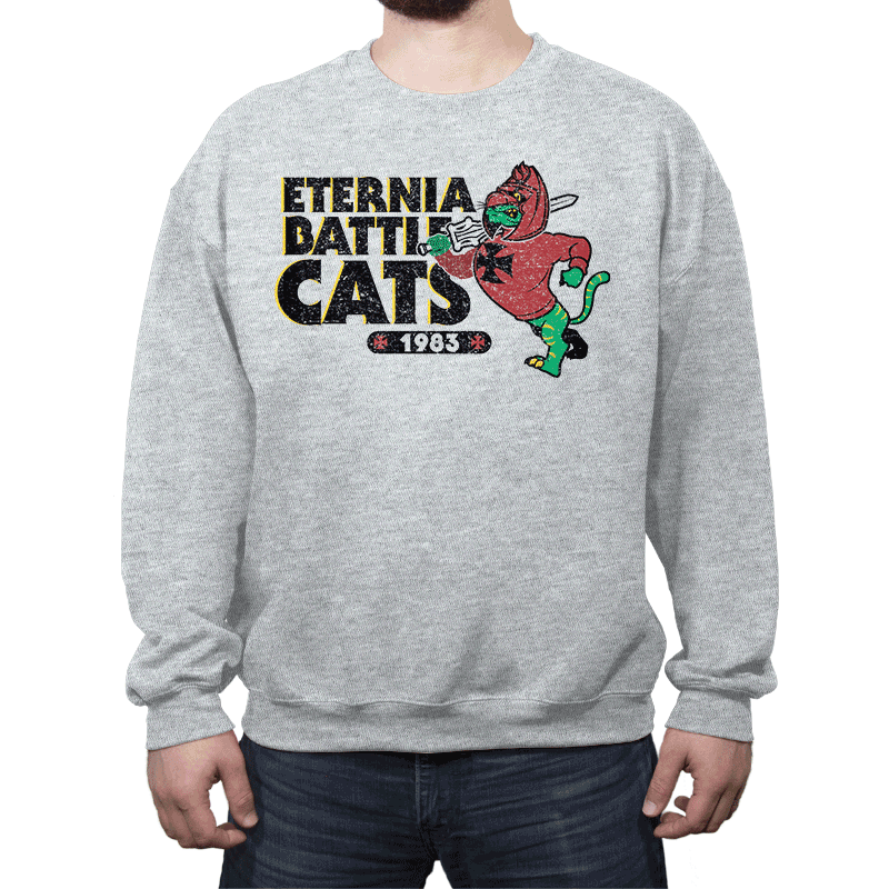 Eternia Battle Cats - Crew Neck - Crew Neck - RIPT Apparel