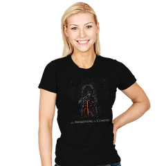 An Awakening Is Coming - Womens - T-Shirts - RIPT Apparel