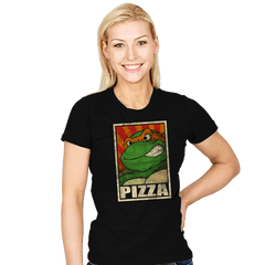 Pizza! - Womens - T-Shirts - RIPT Apparel