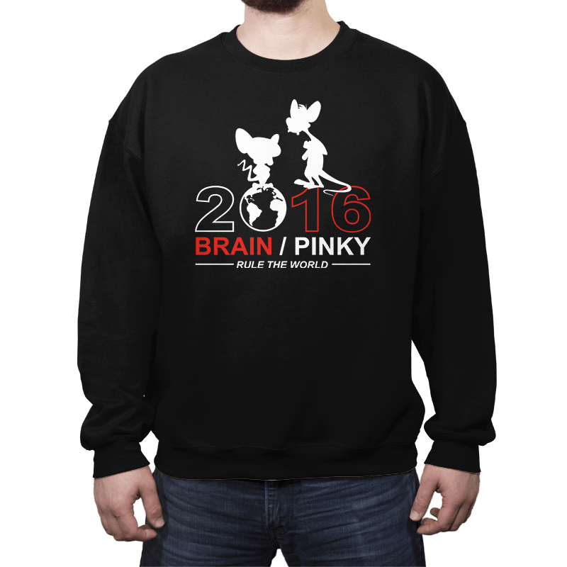 Brain / Pink 2016 - Crew Neck - Crew Neck - RIPT Apparel