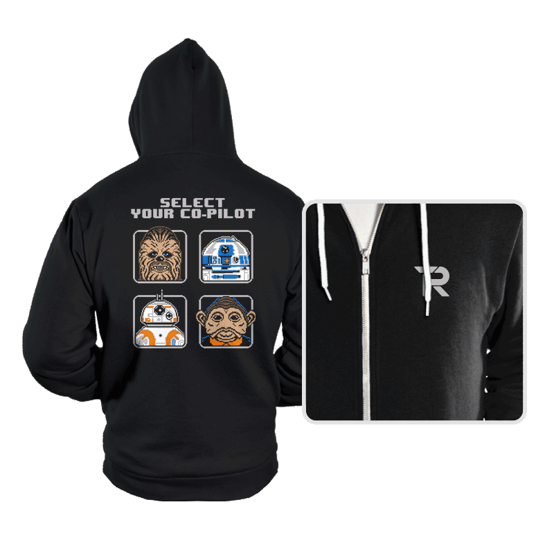 Select Your Co-Pilot - Hoodies - Hoodies - RIPT Apparel