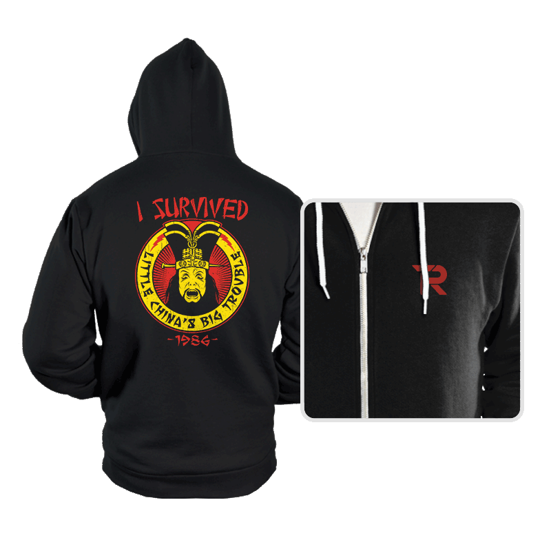 Surviving Trouble - Hoodies - Hoodies - RIPT Apparel