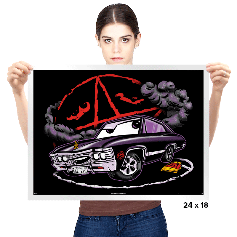 Dean's Baby - Prints - Posters - RIPT Apparel