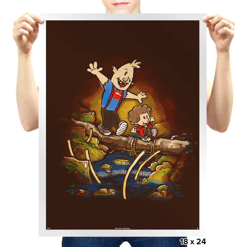Sloth & Chunk - Prints - Posters - RIPT Apparel