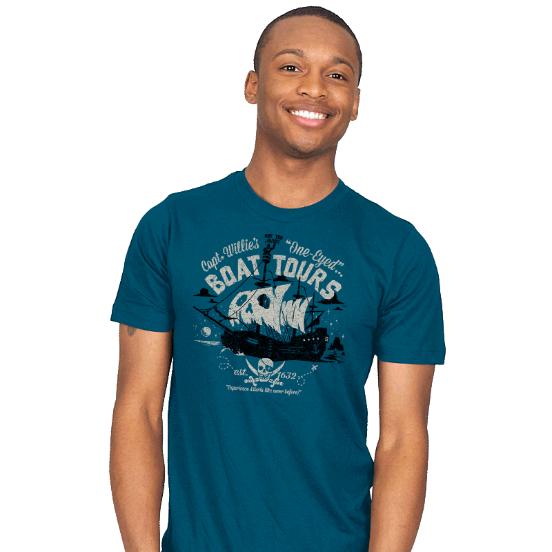One-Eyed Boat Tours - Mens - T-Shirts - RIPT Apparel