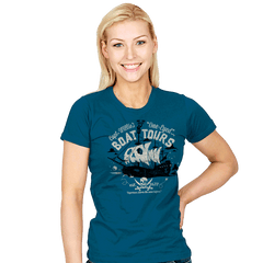 One-Eyed Boat Tours - Womens - T-Shirts - RIPT Apparel