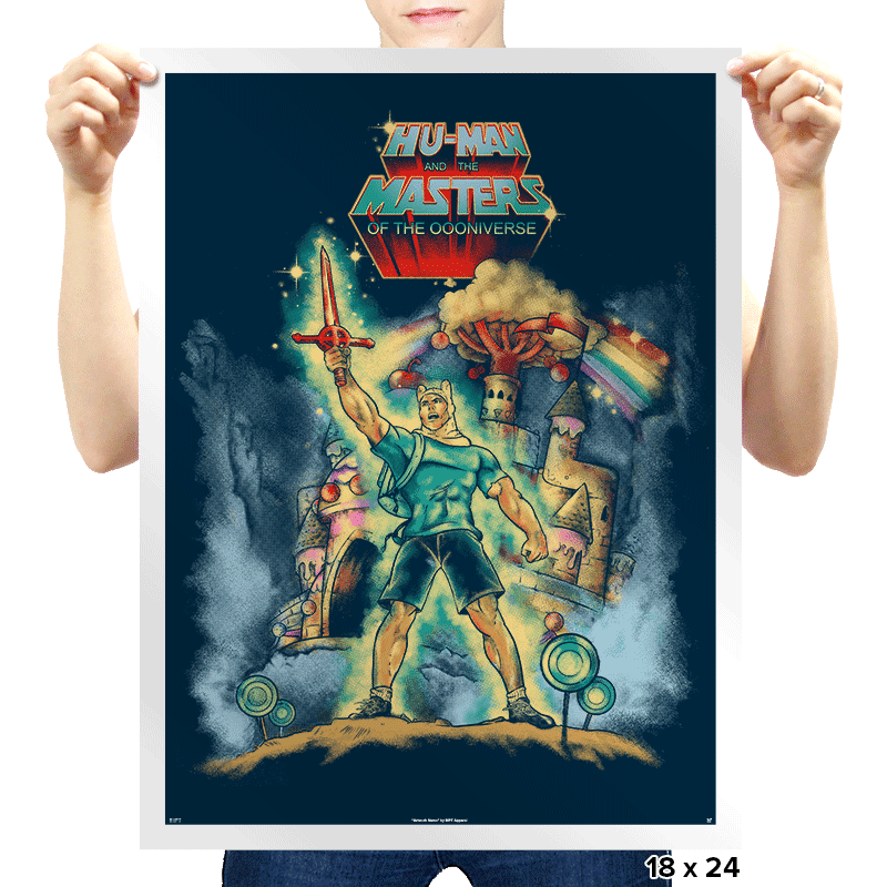 Masters of the Oooniverse - Prints - Posters - RIPT Apparel