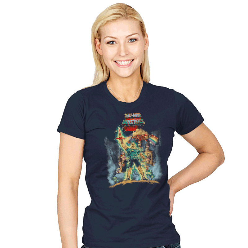 Masters of the Oooniverse - Womens - T-Shirts - RIPT Apparel