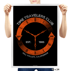 Time Travelers Club - Prints - Posters - RIPT Apparel