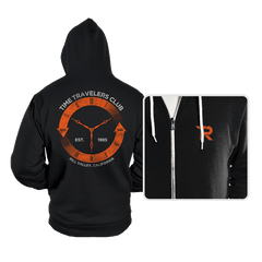Time Travelers Club - Hoodies - Hoodies - RIPT Apparel