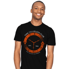 Time Travelers Club - Mens - T-Shirts - RIPT Apparel