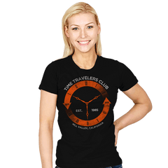 Time Travelers Club - Womens - T-Shirts - RIPT Apparel