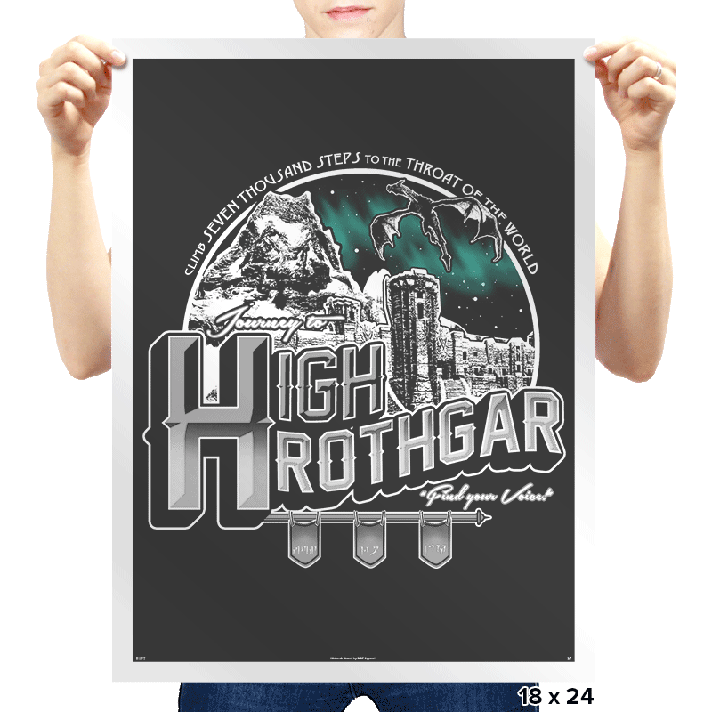 Throat of the World - Prints - Posters - RIPT Apparel