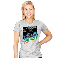 Time Racer - Womens - T-Shirts - RIPT Apparel