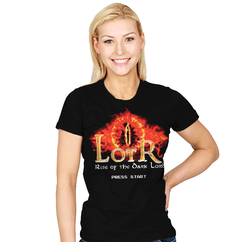 Rise of the Dark Lord - Womens - T-Shirts - RIPT Apparel