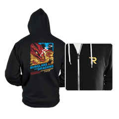 Burglars and Dragons - Hoodies - Hoodies - RIPT Apparel