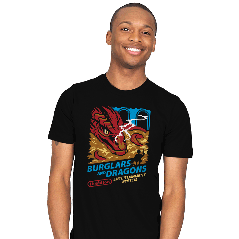 Burglars and Dragons - Mens - T-Shirts - RIPT Apparel
