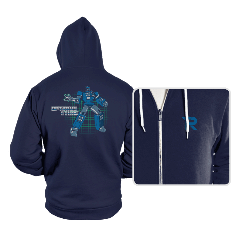 Optimus Time - Hoodies - Hoodies - RIPT Apparel