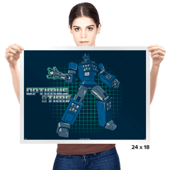 Optimus Time - Prints - Posters - RIPT Apparel